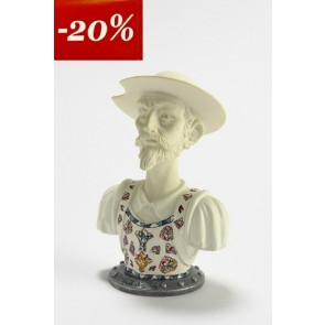 BUSTO DON QUIJOTE blanco