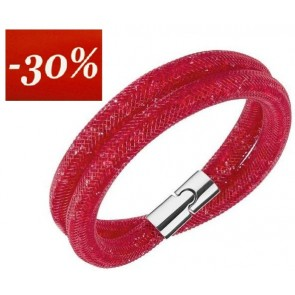 PULSERA STARDUST DOBLE RED