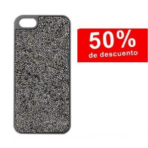 "FUNDA PARA iPhone 6 ""GLAM ROCK NEGRA"""